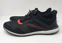 Adidas Energy Bounce 2 Men#x27;s Size 11.5 Running Sneakers B49587 Black $24.95