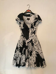 Vivienne Westwood summer dress whiteblack