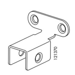 (1) x IKEA # 121370 Connecting Metal Support Bracket For Most Ikea Beds Part $9.50