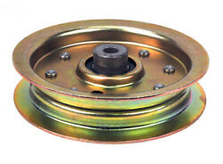 Cub Cadet 01004101 Commercial Replacement Flat Idler Pulley 3 8quot; X 4.88quot;