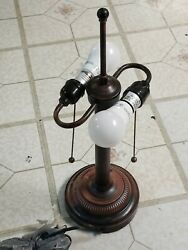 Antique Double sided Curved lamp with individual Pull Switch $32.99