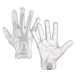 Grip Boost Peace Shaka and Hook #x27;Em Football Gloves Pro Elite Adult Sizes $44.95