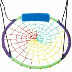 40quot; Spider Web Tree Swing Heavy Duty Spider Swings for Kids Large Tree Swing $78.20