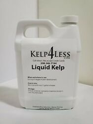 ORGANIC KELP SEAWEED LIQUID 32 oz Fertilizer 1 QUART Free Ship MICRO NUTRIENTS $21.79