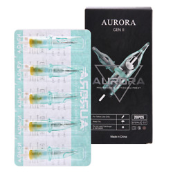 20 pcs Aurora Sterilized Disposable Tattoo Cartridge Needles Quality Guarantee $11.99