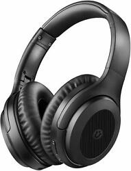 Utaxo Active Noise Cancelling Bluetooth Headphones Over Ear with Mic $32.99
