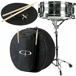 GP Percussion SK22 Complete Student Snare Drum Kit New $74.99