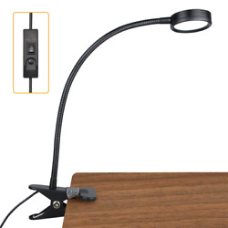 LEPOWER New Version Metal Clip On Light Flexible Bed Light with 3 Colors x Eye $19.57