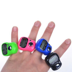 Digit Digital LCD Electronic Golf Finger Hand Ring Knitting Row Tally Counter* 1 $0.99
