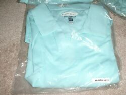 OEM GENUINE MERCEDES BENZ WOMENS PIQUE POLO BY PEBBLE BEACH LOT OF 2!!!!! $39.99