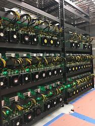 10 Bitmain Antminer S9 13.5 Ths Bitcoin Miner PSU's included BTC BCH