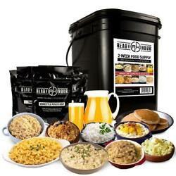 2 Week Emergency Food Supply – 92 Servings By Ready Hour $113.00