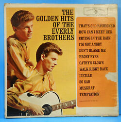 GOLDEN HITS OF THE EVERLY BROTHERS LP '62 MONO ORIGINAL NICE CONDITION! VGG+!!A $5.99