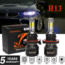 4-Side H13 9008 LED Headlight Kit 2000W Hilow Beam Bulbs for Chevy Cruze 11-17