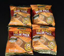 4 Pks Of 8 HotHands Adhesive Body Warmer - New In Sealed Bag $29.99