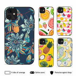 For iPhone 12 Pro Max 11 XS XR 8 7 Plus Shockproof Case Cover Cute Exotic Fruit AU $12.99