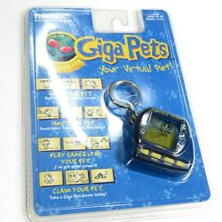 Giga Pets Virtual Alien ver Virtual Pet Tamagotchi Style Tiger 1997 New Sealed