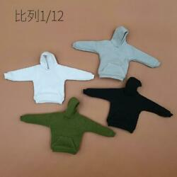 Kinds of 4 1 12 Hoodie coat Model For 6quot; SHF MEZCO 3ATOYS Figure Doll $17.09