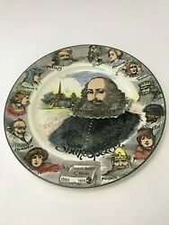 Royal Doulton Shakespeare Collectors Plate Sweet Swan of Avon D6303 England $20.00