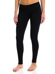 T Party Women#x27;s Folded Band Legging Black Charcoal $22.90