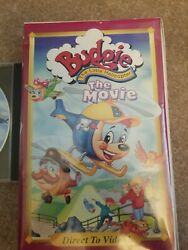 Budgie The Little Helicopter The Movie VHS Movie VCR Tape w free cd $8.00