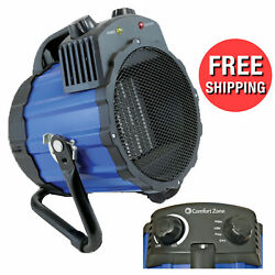 Portable Indoor Electric Room Space Ceramic Utility Heater Blower Garage Air Fan $55.95