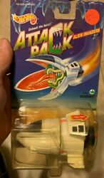 Hot Wheels 1993 Attack Pack Alien Invaders Galactibite NEW factory sealed $14.75