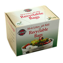 Recyclable Compost Bags 50 Pk. $19.99