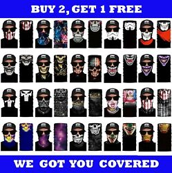 FACE MASK Balaclava Biker Skull Motorcycle Helmet Neck Warm Winter Weather Sport $4.99