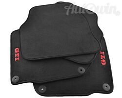 Floor Mats for Volkswagen Golf IV with GTI Emblem and Clips LHD Side NEW $139.00