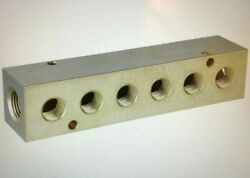 Manifold 3 8quot; Inlet Size 1 4quot; Outlet Size NPT Brass 5 5 8quot; Overall Length $79.00