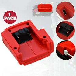 For Milwaukee 49-24-2371 M18 Lithium-Ion Power Source DC12V USB Port Charger US $12.99