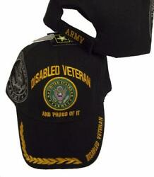 US DISABLED ARMY VETERAN PROUD OF IT BASEBALL STYLE EMBROIDERED HAT usa cap A145 $9.79