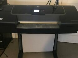 HP DesignJet Z2100 Q6675C 24 Wide-Format Printer Plotter WStand  $750.00