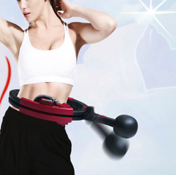 Smart Fitness Auto-Spinning Hula Hoop Lose Weight Exercise Detachable Portable $49.99