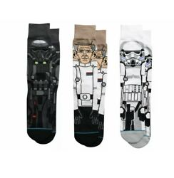 STANCE Star Wars ROGUE ONE MENS 3 pr SOCKS 3 PACK SZ Large NEW $60 $24.99