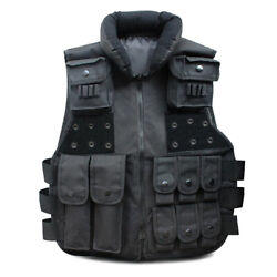 Tactical Vest Military SWAT Police Airsoft Hunting Combat Assault Plate Carrier $21.49