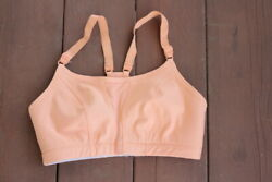 Champion support sports bras light orange size 34 C $10.30