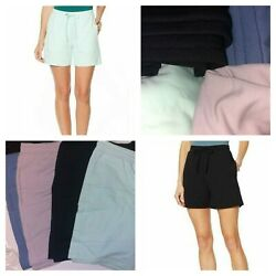 ModernSoul French Terry Knit Shorts WDrawstring & Pockets Various Color & Sizes $10.00