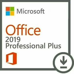 Microsoft Office MS Office 2019 Professional Plus Brand New - DVD - 1 PC $52.94