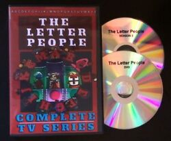 The Letter People Tv Show Complete Series DVD set $27.99