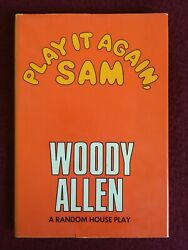 Woody Allen PLAY IT AGAIN SAM Book Club Edition Excellent Condition $18.00