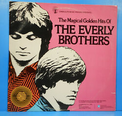 MAGICAL GOLDEN HITS OF THE EVERLY BROTHERS 2X LP 1976 GREAT CONDITION! VG++VG!! $9.99