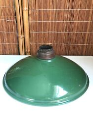 Vintage BENJAMIN Porcelain INDUSTRIAL Antique LIGHT Enamel BARN LAMP Gas Station $48.00