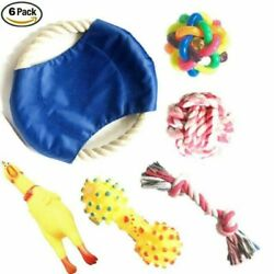Chew Dog Toys Squeaky Dog Toys for Puppy and Small Medium Dog. 6 PCS $34.00