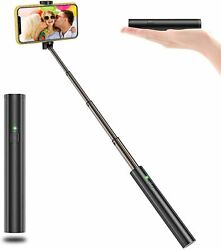 Magic Pipe Mini Selfie Stick Bluetooth Magnetic Extendable Lightweight Compact $14.99