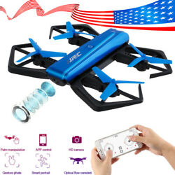 FPV Drone with Camera 720P RC Quadcopter WiFi Gravity Sensor Foldable Flying Toy $22.55