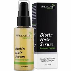 Biotin Hair Growth Serum To Help Grow Healthy Strong Hair for Men and Women $19.99