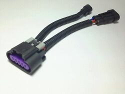 LS7  LS3 5 WIRE MAF Mass Air Flow Sensor TO 3 WIRE HARNESS ADAPTER w IAT $11.99