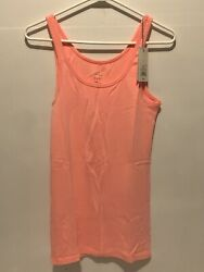 A New Day Womens Large Peach Tank Top $8.00